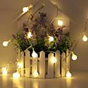 povoljno Jastuci-1.5m Žice sa svjetlima 10 LED diode Toplo bijelo / RGB / Bijela Kreativan / Party / Ukrasno AA baterije su pogonjene 1set