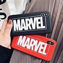 رخيصةأون أغطية أيفون-غطاء من أجل Apple iPhone XS / iPhone XR / iPhone XS Max مثلج غطاء خلفي جملة / كلمة ناعم TPU