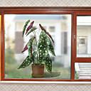 povoljno Sve za prozore-Prozor Film i Naljepnice Ukras Suvremena / 3D Cvijet PVC Naljepnica za prozor / Protiv odsjaja