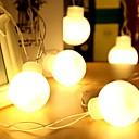 voordelige iPhone 8 hoesjes-5M Verlichtingsslingers 20 LEDs Warm wit Decoratief 220-240 V 1 set