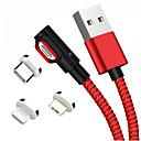 رخيصةأون كاميرات المراقبة IP-USB مصغر / البرق / نوع C كابل 1m-1.99m / 3ft-6ft كله في 1 / جديلي الالومنيوم / نايلون محول كابل أوسب من أجل Macbook / iPad / Samsung