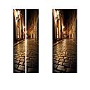 رخيصةأون ديكور الحائط-ملصقات الباب - لواصق مشهور / مناظر طبيعية غرفة الجلوس / غرفة النوم