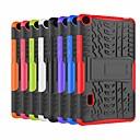 رخيصةأون Huawei أغطية / كفرات-غطاء من أجل Huawei Huawei MediaPad T3 7.0 ضد الصدمات / مع حامل غطاء خلفي درع قاسي بلاستيك