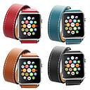 povoljno Krovna rasvjeta-Pogledajte Band za Apple Watch Series 5/4/3/2/1 Apple Kožni remen Prava koža Traka za ruku