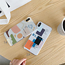 voordelige Galaxy A8 Hoesjes / covers-hoesje Voor Apple iPhone XS / iPhone XR / iPhone XS Max Transparant / Patroon Achterkant Geometrisch patroon Zacht TPU