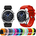 voordelige Galaxy S6 Edge Plus Hoesjes / covers-Horlogeband voor Gear S3 Frontier / Gear S3 Classic Samsung Galaxy Sportband Silicone Polsband