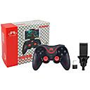 ieftine Accesorii PC Game-pxn s5 joystick controler wireless mâner pentru ios / pc / android bluetooth nou design joystick controler mâner abs 1 buc unit