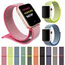 رخيصةأون أساور ساعات هواتف أبل-حزام إلى Apple Watch Series 4/3/2/1 Apple عصابة الرياضة نايلون شريط المعصم