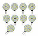cheap LED Bi-pin Lights-10pcs 3 W LED Bi-pin Lights 300 lm G4 12 LED Beads SMD 5730 Decorative Adorable Warm White Cold White 12 V