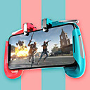 رخيصةأون إكسسوارات ألعاب الهواتف الذكية-ak16 pubg المحمول gamepad pubg تحكم للهاتف l1r1 قبضة مع عصا التحكم / الزناد l1r1 pubg أزرار النار ل iphone android ios