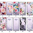 رخيصةأون إكسسوارات سامسونج-غطاء من أجل Samsung Galaxy Note 9 شفاف / نموذج غطاء خلفي زهور ناعم TPU