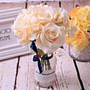 رخيصةأون أزهار اصطناعية-زهور اصطناعية 1 فرع فردي أسلوب بسيط الحديث النباتات العصارية أزهار الطاولة