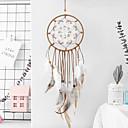 رخيصةأون Huawei أغطية / كفرات-حلم الماسكون اليدوية مع الجدار ريشة زخرفة زخرفة زخرفة ديكور المنزل