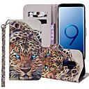 voordelige iPhone-hoesjes-hoesje Voor Samsung Galaxy S9 / S9 Plus / S8 Plus Portemonnee / Kaarthouder / met standaard Volledig hoesje dier Hard PU-nahka