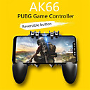 رخيصةأون إكسسوارات ألعاب الهواتف الذكية-gamepads ak66 ستة أصابع الكل في واحد تحكم لعبة الهاتف المحمول مجانا النار مفتاح زر جويستيك gamepad l1 r1 trigger for pubg