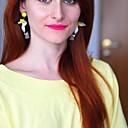 povoljno Ženski satovi-Žene Viseće naušnice Ptica Crtići Naušnice Jewelry Bijela Za Dnevno 1 par