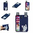 رخيصةأون أغطية أيفون-غطاء من أجل Apple iPhone XS / iPhone XR / iPhone XS Max نموذج غطاء خلفي قطة / كارتون ناعم TPU