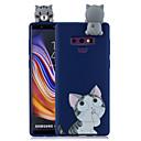 رخيصةأون حافظات / جرابات هواتف جالكسي S-غطاء من أجل Samsung Galaxy Note 9 / Note 8 نموذج غطاء خلفي كارتون ناعم TPU