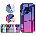 voordelige Hoesjes / covers voor Huawei-hoesje Voor Huawei Mate 10 pro / Mate 10 lite / Huawei Mate 20 lite Schokbestendig Achterkant Kleurgradatie Hard TPU / Gehard glas