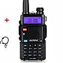 ieftine Walkie Talkies-Baofeng Walkie Talkie Uv-5r versiune de upgrade pentru radio cu două căi versiune 128ch 5w VHF UHF 136-174mhz și 400-520mhz stație radio portabil șuncă amator intercome hf transceiver uv5r căști
