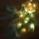 povoljno LED svjetla u traci-2m Žice sa svjetlima 20 LED diode SMD 0603 Toplo bijelo Ukrasno / Božićni vjenčani ukrasi Baterije su pogonjene 1set