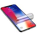 povoljno Muški satovi-AppleScreen ProtectoriPhone XS Visoka rezolucija (HD) Zaštita za cijelo tijelo 1 kom. TPU hidrogel