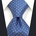 رخيصةأون ربطات عنق-ربطة العنق منقط / خملة الجاكوارد رجالي حفلة / عمل / أساسي