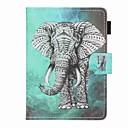 رخيصةأون حالة أقراص أخرى-غطاء من أجل KOBO kobo clara HD حامل البطاقات / ضد الصدمات / نموذج غطاء كامل للجسم حيوان قاسي جلد PU