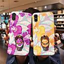 رخيصةأون أغطية أيفون-الحال بالنسبة لتفاح iphone xr / iphone xs max / imd / مع الغطاء الخلفي الوقوف زهرة لينة tpu آيفون x xs 8 8 زائد 7 7 زائد 6 6 ثانية 6 زائد 6 ثانية زائد
