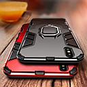 voordelige iPhone 11 Pro Max hoesjes-hoesje Voor Apple iPhone XS / iPhone XR / iPhone XS Max Schokbestendig / Ringhouder Achterkant Schild Hard PC