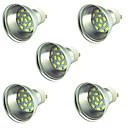 ieftine Spoturi LED-5pcs 2 W Spoturi LED 300 lm GU10 15 LED-uri de margele SMD 5730