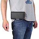 voordelige Samsung-hoes voor tablets-hoesje Voor Blackberry / Apple / Samsung Galaxy Universeel Kaarthouder Heuptassen Effen Zacht PU-nahka