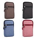 preiswerte Universelle Hüllen- & Handytaschen-Hülle Für Blackberry / Apple / Samsung Galaxy Universal Kreditkartenfächer Hüfttaschen Solide Weich Textil