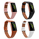 povoljno Remenje za Fitbit satove-Pogledajte Band za Fitbit Charge 3 Fitbit Sportski remen Prava koža Traka za ruku