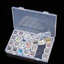 ieftine Cercei-Cutie stocare Plastic Multifuncțional / Durabil Transparent