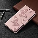 voordelige Galaxy J5(2017) Hoesjes / covers-case voor iphone xr iphone xs max telefoon case pu lederen materiaal embossing vlinder patroon effen kleur telefoon case voor iphone xs x 8 8 plus 7 7 plus 6 s 6 plus 6 s 6