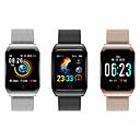 رخيصةأون ساعات ذكية-F9 الذكية ووتش BT الصلب غير القابل للصدأ اللياقة البدنية تعقب دعم إخطار / رصد معدل ضربات القلب الرياضية smartwatch متوافق مع أبل / سامسونج / هواتف أندرويد