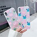 رخيصةأون أغطية أيفون-غطاء من أجل Apple iPhone XS / iPhone XR / iPhone XS Max مثلج / شبه شفّاف غطاء خلفي كارتون ناعم TPU