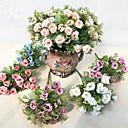 رخيصةأون أزهار اصطناعية-زهور اصطناعية 5 فرع فردي دعامات أسلوب بسيط الورود أزهار الطاولة