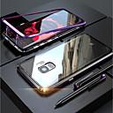 levne Galaxy S pouzdra / obaly-Carcasă Pro Samsung Galaxy S9 / S9 Plus / S8 Plus Průhledné / Magnetické Celý kryt Jednobarevné Pevné Tvrzené sklo