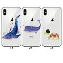 olcso iPhone tokok-Case Kompatibilitás Apple iPhone XS / iPhone XR / iPhone XS Max Minta Fekete tok Állat Puha TPU