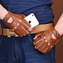 povoljno Apple Watch remeni-muške rukavice za motocikle od pola prsta koža bez klizanja / otporne na habanje