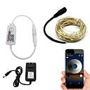 povoljno LED svjetla u traci-BRELONG® 10m Žice sa svjetlima / Smart Lights 100 LED diode SMD 0603 Toplo bijelo / Bijela / Crveno Vodootporno / APP kontrola / Kreativan 110-120 V 1pc