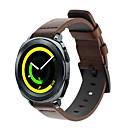 voordelige Horlogebandjes voor Samsung-Horlogeband voor Gear Sport / Gear S2 Classic / Samsung Galaxy Watch 42 Samsung Galaxy Sportband Echt leer Polsband