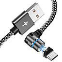 ieftine Accesorii Wii U-Tip C Cablu Împletit / Rapidă încărcare Nailon Adaptor pentru cablu USB Pentru Huawei