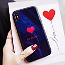 voordelige iPhone-hoesjes-hoesje Voor Apple iPhone XS / iPhone XR / iPhone XS Max Schokbestendig Achterkant Woord / tekst Hard TPU / Gehard glas