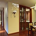 povoljno Ukrasne naljepnice-Dekorativne zidne naljepnice - 3D zidne naljepnice / Zidne naljepnice ogledala Cvjetni / Botanički / 3D Spavaća soba / Ured
