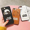رخيصةأون أغطية أيفون-غطاء من أجل Apple iPhone XS / iPhone XR / iPhone XS Max حامل البطاقات / نموذج غطاء خلفي كارتون قاسي جلد PU