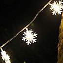 povoljno iPhone futrole/maske-5m pahuljica niz svjetla 40 LEDs topla bijela božićna nova godina soba ukrasna 220-240v 1set