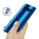رخيصةأون حافظات / جرابات هواتف جالكسي S-غطاء من أجل Samsung Galaxy S9 / S9 Plus / S8 Plus تصفيح / مرآة / نحيف جداً غطاء كامل للجسم لون سادة قاسي الكمبيوتر الشخصي
